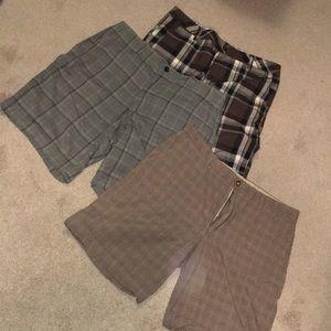 Bundle 3 Pairs Men's Shorts